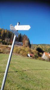 Directions Post, Erbersbronn, Germany