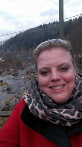 I am on the Murg River in the Village of Kirschbaumwassen